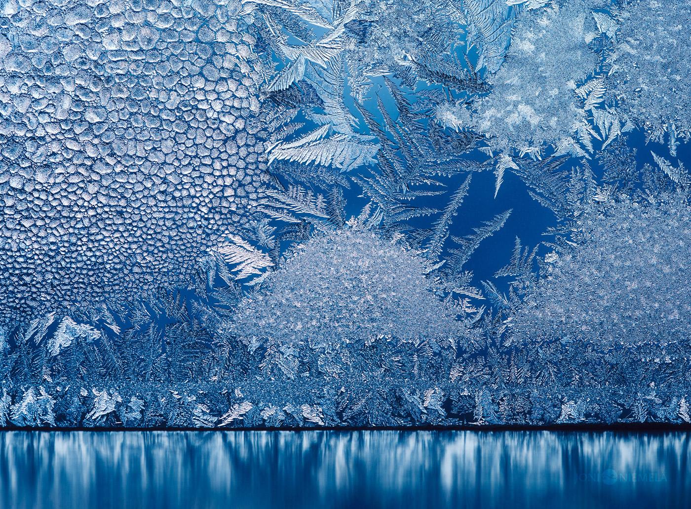Window Frost Reflection