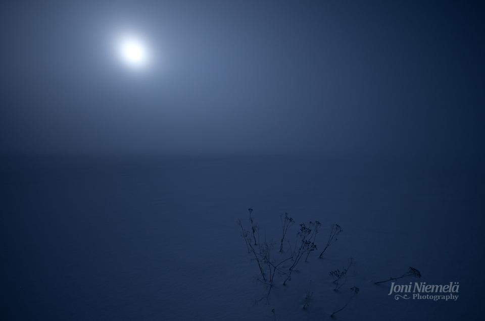 Misty Full Moon