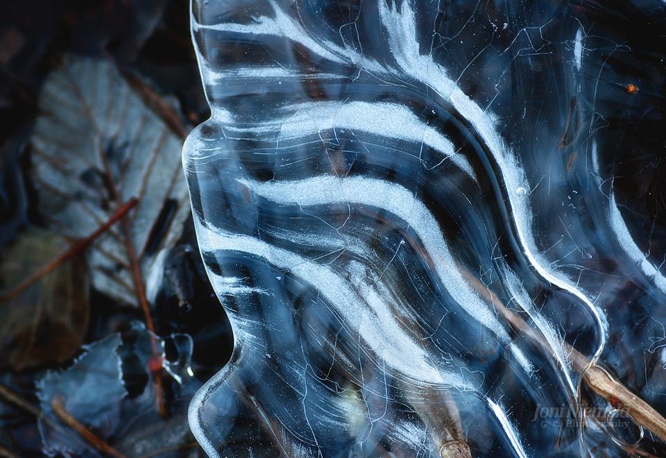 Stripes Of Ice