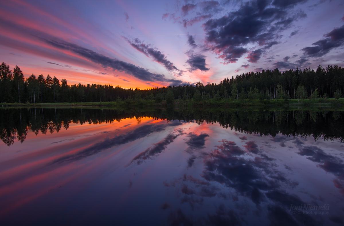 Reflection On Salmon Pond
