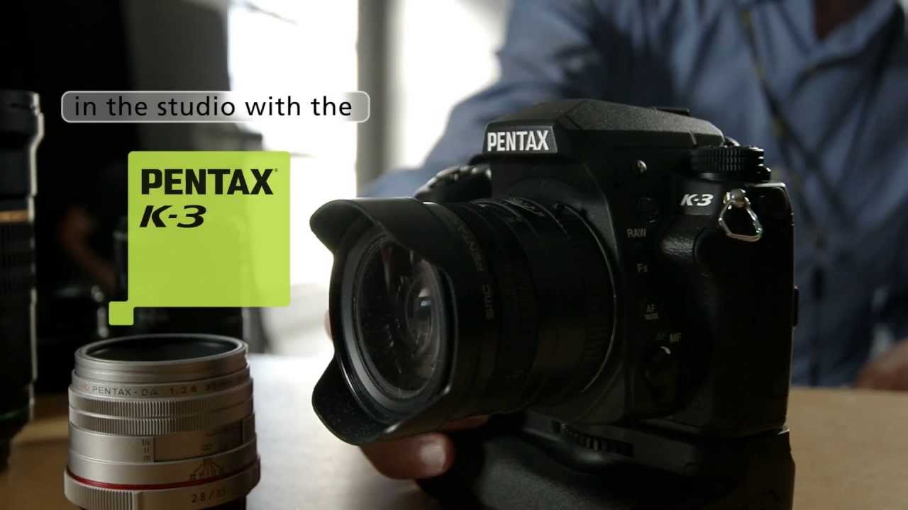 In The Studio With The Pentax K-3